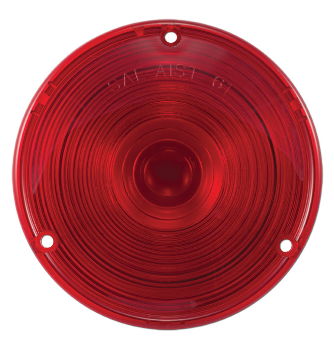(1958-59)  Taillamp Lens-Fleetside
