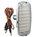 (1960-66)  LED Taillamp Assy.-Fleet w/o Bowtie - Clear