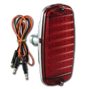 (1960-66)  LED Taillamp Assy.-Fleetside w/o Bowtie Red