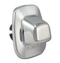 (1988-98)  License Lamp-w/ Rear Step Bumper - Chrome
