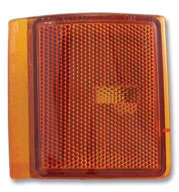 (1994-98)  Front Side Marker Lamp Lense  LH-Lower-GMC