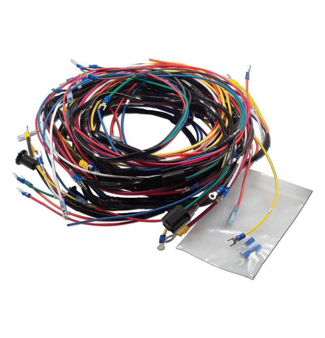 (1940-46)  Wiring Harness - Alternator