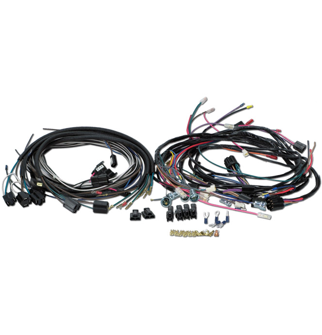 wiring harness generator classic chevy truck parts