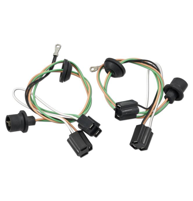 (1958-59)  Headlamp Harness Set