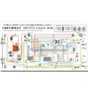 (1967-72)  Full Color Wiring Diagram-Stock