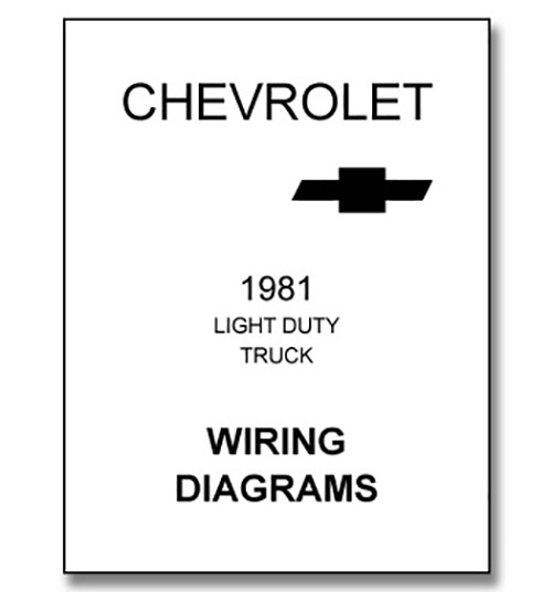 1981 Chevy Pickup Wiring Diagram  Wiring  Automotive