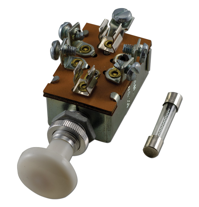 (1936-46)    Headlight/Parklamp Switch Only 6 or 12 Volt