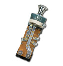 (1936-54)  Headlamp Switch-Repl-6v