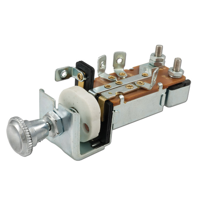 (1936-54)  Headlamp Switch-Replacement-12volt