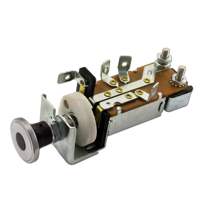 (1947-53)  Headlamp Switch-Replacement-6volt-Original Knob