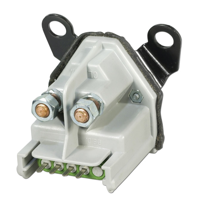 (1988-91)  Auxiliary Battery Relay