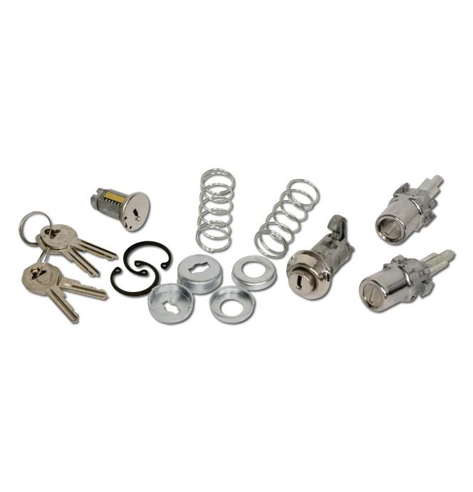 (1952-53)  Complete Lock Set