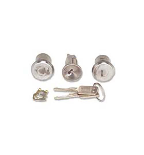 (1967-72)  2 Door & Ignition Locks - Matched Set