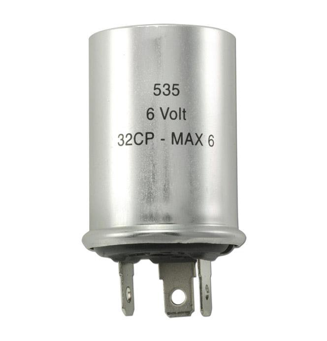 (1941-54)  Turnsignal Flasher-6 Volt