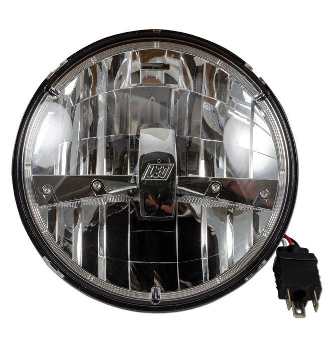 7 Quot Classic Led Headlight Bulb Round Classic Chevy Truck