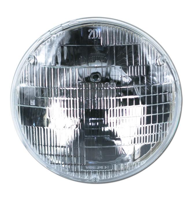 (1941-54) Headlamp Bulb-6 Volt-Halogen