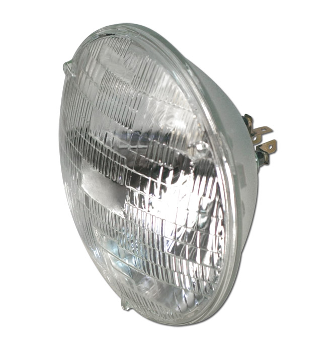 (1941-80)  Headlamp Bulb-Round-Halogen