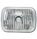 (1979-98) Crystal Headlight Bulb - Rectanglar Single