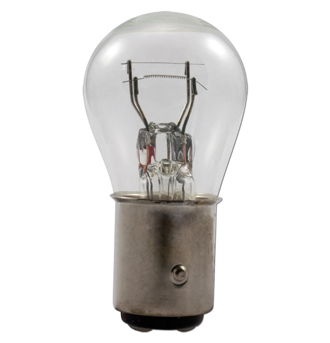 (1947-54)  Parklamp & Tailamp Bulb-6v-Dbl