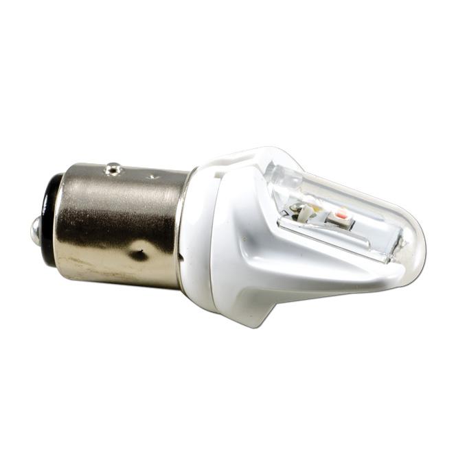 (1967-82)  Parklamp Bulb-Amber LED