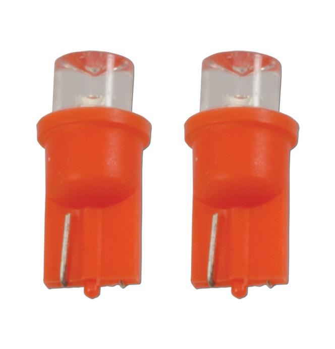 (1967-98)  Inst Pnl, Sd Mkr Bulb LED Amber pr.