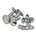 (1955-87)  Runningboard Bolt Kit-Chrome