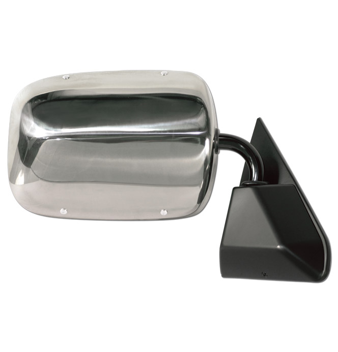 (1988-98)  Outside Mirror Assembly - Stainless - Right