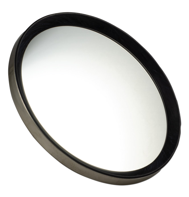 (1941-69)  Outside Mirror Head - Round Stainless