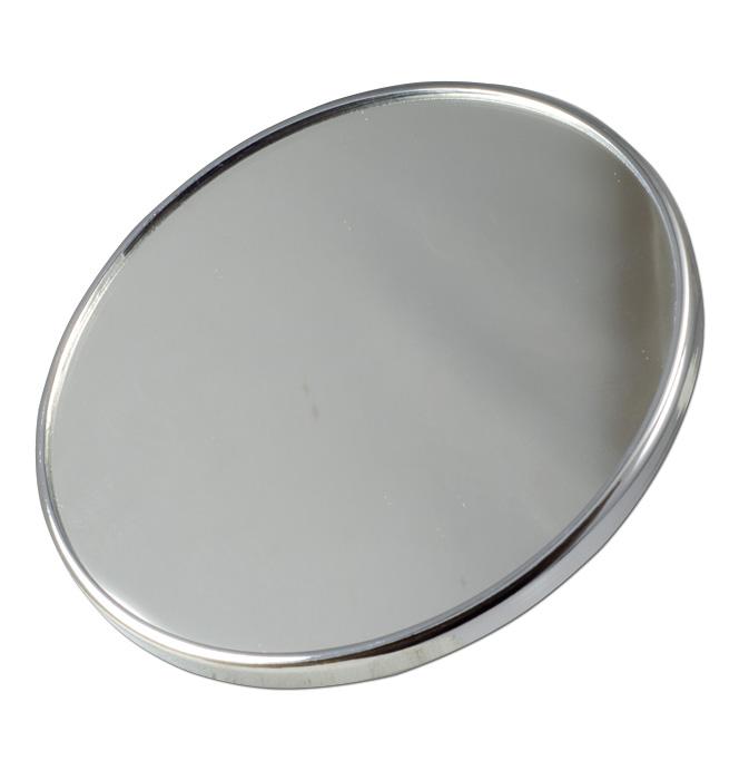 (1941-69)  Outside Mirror Head - Round Chrome