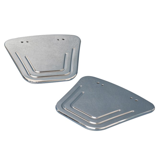 (1973-87)  Outside Mirror Adapter Plates Polished