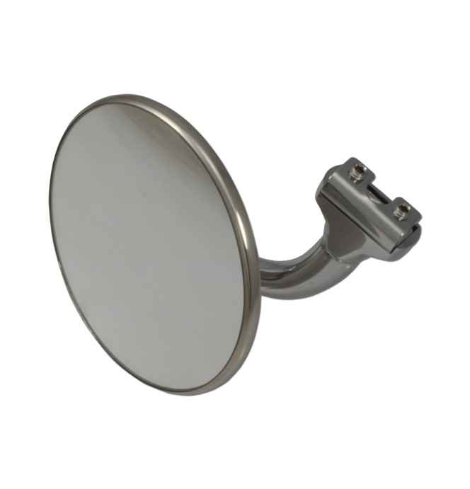 (1941-87)  Peep Mirror - with Curved Arm Round Head Wide Angle
