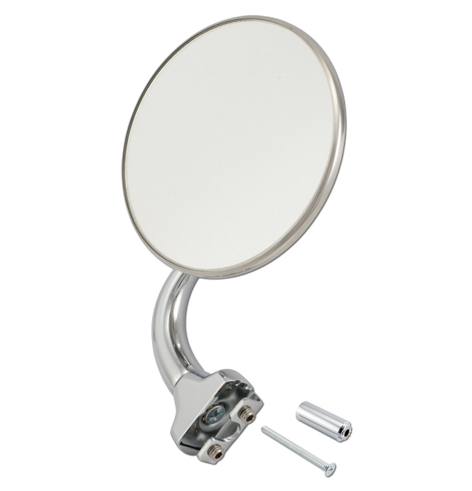 (1941-87)  Peep Mirror W/Ext. - with Curved Arm - 4