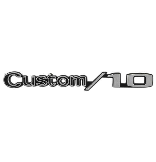 (1969-72)  Fender Emblem - Chevy - Custom/10 - Pari