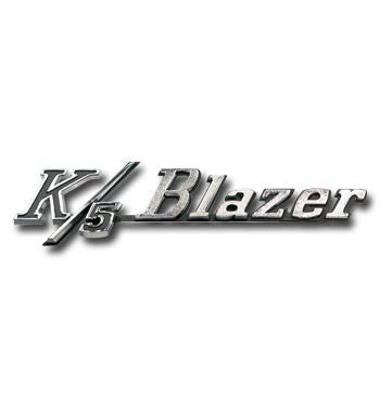 (1969-72)  Fender Emblem - Chevrolet - K5 Blazer - Pair