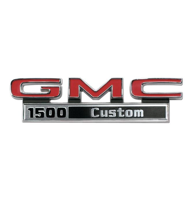 (1971-72)  Fender Emblem - GMC - 1500 Custom - Pair