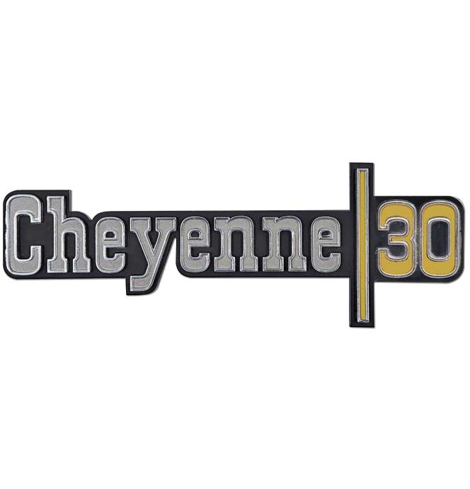 (1973-74)  Fender Emblem - Chevrolet - Cheyenne 30
