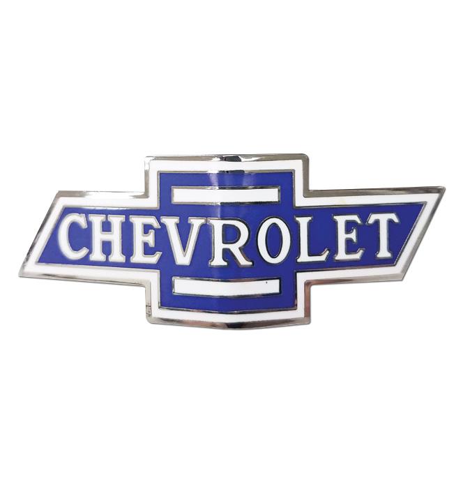 (1934-35)  Front Grille Emblem - Three Color