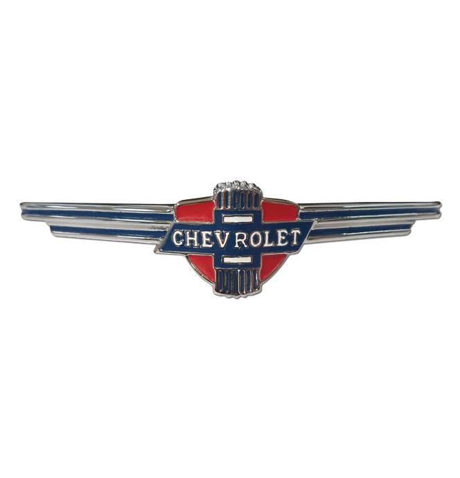 (1937)  Front Grille Emblem - Chrome