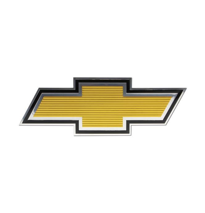 (1975-79)  Grill Emblem - Chevrolet - Bowtie Foil