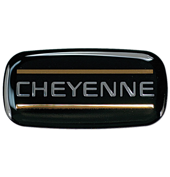 Cab Emblem-Chevrolet-Cheyenne-Classic Chevy Truck Parts