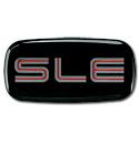 (1997-98)  Cab Emblem-GMC-SLE