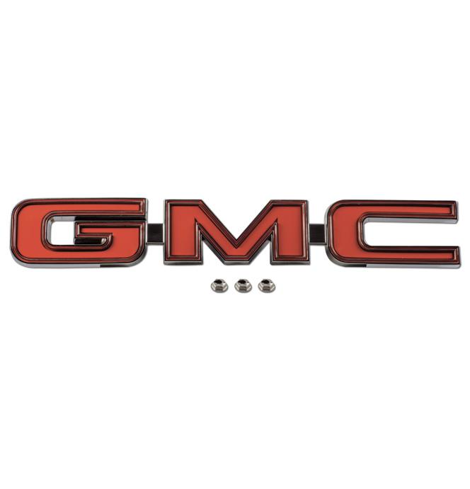 (1975-80)  Tailgate Trim Panel Emblem-GMC