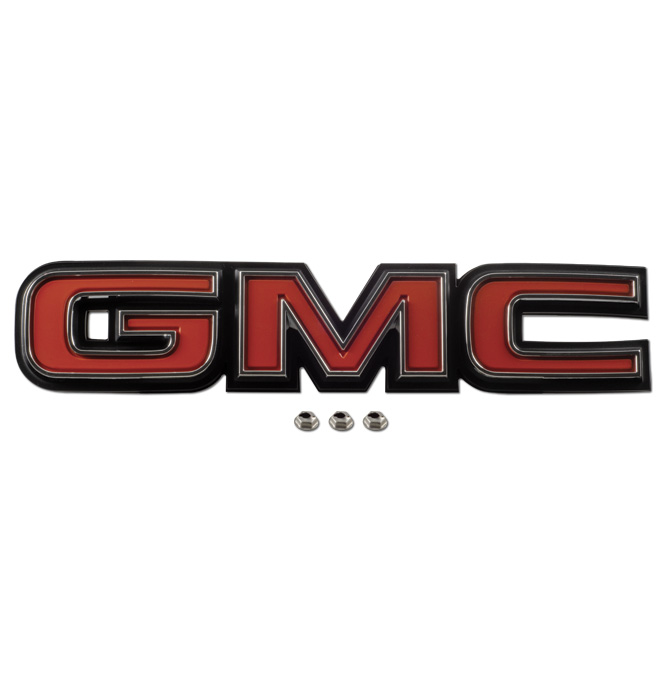(1981-87)  Tailgate Trim Panel Emblem-GMC