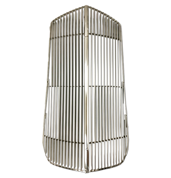 (1937) * Grill - Complete - Polished Stainless