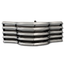 (1947-53)  * Grill - Chrome w/Black Splash Bars