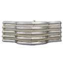 (1947-53)  * Grill - Chrome w/Cream Splash Bars