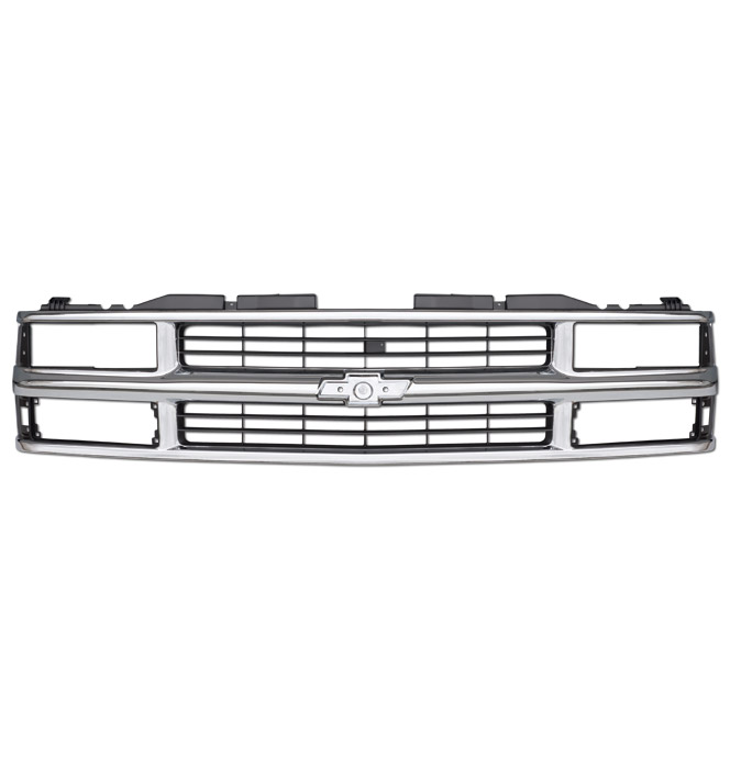 grill chevrolet dual headlamp chrome oem classic chevy truck parts. Cars Review. Best American Auto & Cars Review