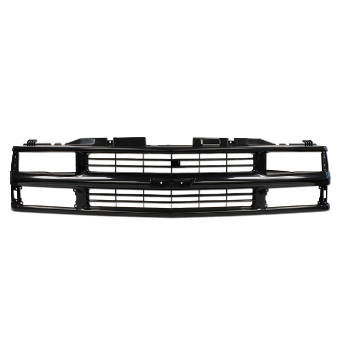 (1994-98)  * Grill - Chevrolet - Dual Headlamp - Black - Reproduction
