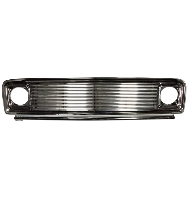 (1969-72)  *Chrome/Billet Grill-Complete-Chevrolet-8mm