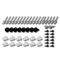 (1969-72)  Complete Grill Fastener Kit